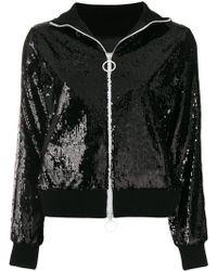 Gaëlle Bonheur - Zipped Embellished Jacket - Lyst