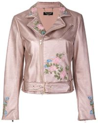Twin Set | Floral Embroidered Jacket | Lyst