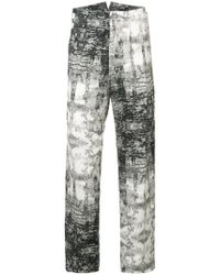 Nude - Printed Trousers - Lyst