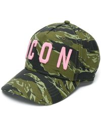 DSquared² - Icon Military Baseball Hat - Lyst