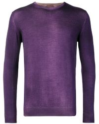 Altea - Washed-effect Fitted Jumper - Lyst