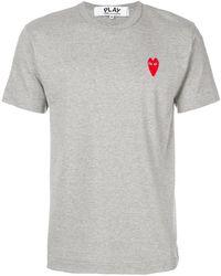 Play Comme des Garçons - Logo Print T-shirt - Lyst