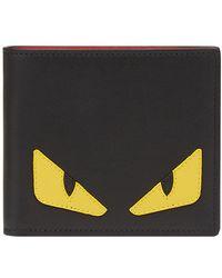 Fendi - Bag Bugs-appliqué Wallet - Lyst
