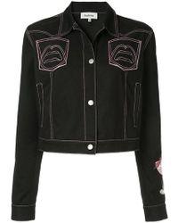 Yazbukey - Pink Lady Gabardine Jacket - Lyst