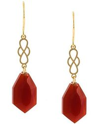 Wouters & Hendrix | 'my Favourite' Agate Earrings | Lyst