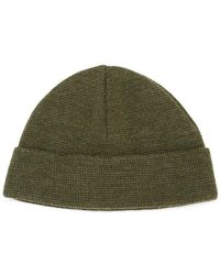 AMI - Knitted Beanie Hat - Lyst