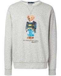 Polo Ralph Lauren - Sudadera Polo Bear - Lyst