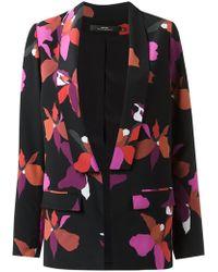Andrea Marques - Printed Silk Blazer - Lyst