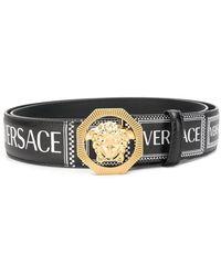 Versace - Cintura con logo Medusa - Lyst