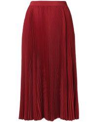 Philosophy Di Lorenzo Serafini - Fold Pleated Skirt - Lyst