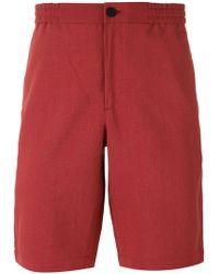 Theory | Plymouth Elastic Waistband Shorts | Lyst
