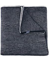 Woolrich - Striped Pattern Scarf - Lyst