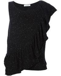 Ryan Roche - Asymmetric Sleeve T-shirt - Lyst