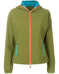 Save The Duck - Lightweight Hooded Jacket - Lyst