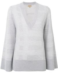 Burberry - V-neck Sweater - Lyst