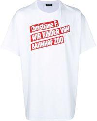 Raf Simons - Hemd mit Print - Lyst