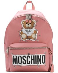 Moschino - Large Teddy Bear Backpack - Lyst