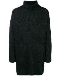 Yohji Yamamoto - Oversized Roll Neck Sweater - Lyst