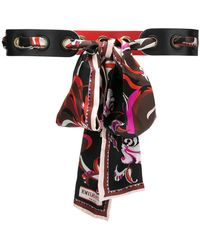 Emilio Pucci | Scarf-detailed Belt | Lyst