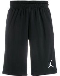 05e4d627bba2 Lyst - Nike Jordan Lux Training Shorts in Black for Men