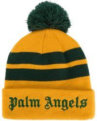 Palm Angels - Stripes Beanie - Lyst