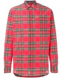 DSquared² - Tartan pattern shirt - Lyst