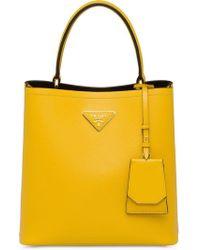 Prada - Double Medium Bag - Lyst