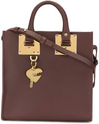 Sophie Hulme - Small 'albion' Square Tote - Lyst