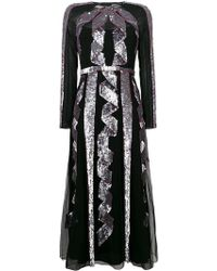 Temperley London - Sequin Embellished Midi Dress - Lyst
