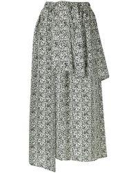 Christian Wijnants - Layered Asymmetric Skirt - Lyst