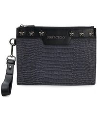 Jimmy Choo - Derek Clutch - Lyst