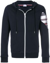 Moncler Gamme Bleu - Patch Embellished Zip-up Hoodie - Lyst