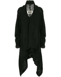 Uma Wang - Knitted Shawl Jacket - Lyst
