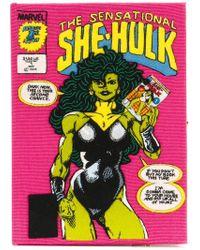 Olympia Le-Tan - Clutch 'The Sensational She-Hulk' - Lyst