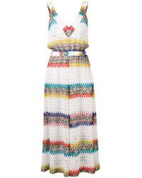 5d6912bee6 Missoni Strapless Cotton-blend Jumpsuit - Lyst