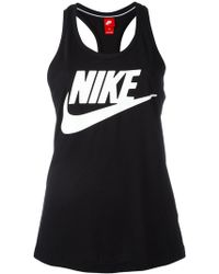 Nike - Logo Print Tank - Lyst