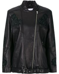 IRO | Embroidered Floral Jacket | Lyst
