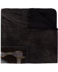 Avant Toi - Printed Square Scarf - Lyst