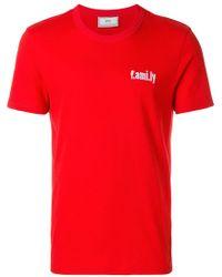 Shirt Lyst Avec Lettrage De T Ami Flèche Localisation Pour Print OqP6qxwp