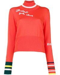 Mira Mikati - Fine Knit Embroidered Jumper - Lyst