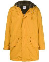 Aspesi - Lined Hooded Coat - Lyst