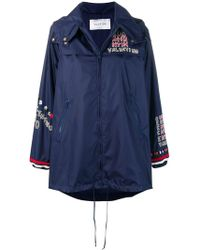 Valentino - Logo Embroidered Jacket - Lyst