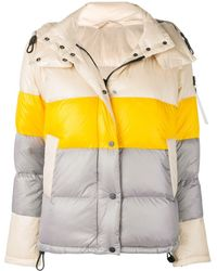 Peuterey - Colour Block Padded Jacket - Lyst