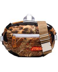 bc73c2d080 Heron Preston - Multicoloured Ctnmb Camouflage Print Padded Cross Body Bag  - Lyst