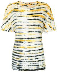 Proenza Schouler - Tie Dye Short Sleeve T-shirt - Lyst