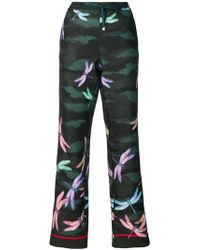 F.R.S For Restless Sleepers - Dragonfly Print Trousers - Lyst
