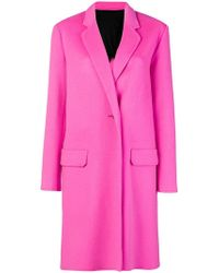 Helmut Lang - Classic Single-breasted Coat - Lyst