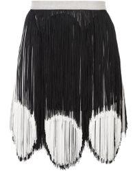 Rachel Comey - Two-tone Fringe Skirt - Lyst