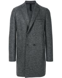 Harris Wharf London - Double-breasted Coat - Lyst