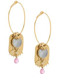 Gas Bijoux - Eldorado Hoop Earrings - Lyst